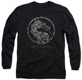 Long Sleeve: Mortal Kombat X - Stone Seal Long Sleeves