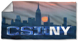 Csi New York - City Logo Beach Towel Beach Towel