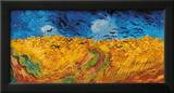 Wheatfield with Crows, c.1890 Framed Giclee Print by Vincent van Gogh
