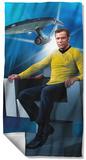 Star Trek - Captains Chair Beach Towel Beach Towel