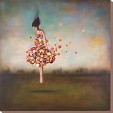Blühende Grenzenlosigkeit Leinwand von Duy Huynh