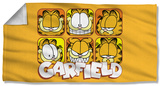Garfield - Faces Beach Towel Beach Towel