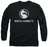 Long Sleeve: Mortal Kombat X - Dragon Logo T-shirts