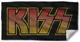 Kiss - Classic Logo Beach Towel Beach Towel