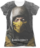 Juniors: Mortal Kombat X - Finish Him T-shirts