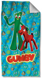 Gumby - Best Friends Beach Towel Beach Towel