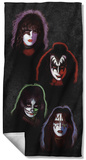 Kiss - Solo Heads Beach Towel Beach Towel