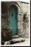 Porte d'Automme Stretched Canvas Print by Joane Mcdermott