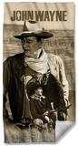 John Wayne - Stoic Cowboy Beach Towel Beach Towel