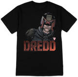 Judge Dredd - 2000 AD 3D Tee T-Shirt