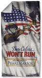 Army - Won'T Run Beach Towel Beach Towel