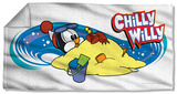 Chilly Willy - In Sand Beach Towel Beach Towel