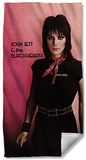 Joan Jett - Crimson And Clover Beach Towel Beach Towel