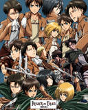 Attack on Titan - Collage Plakater