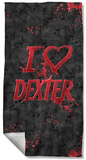 Dexter - I Heart Dexter Beach Towel Beach Towel