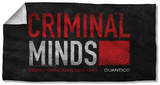 Criminal Minds - Logo Beach Towel Beach Towel