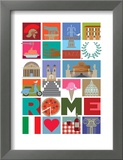 Rome Posters by  Visual Philosophy