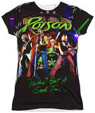 Juniors: Poison - Good Time Live T-shirts