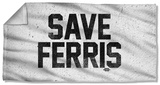 Ferris Buelle - Save Ferris Beach Towel Beach Towel