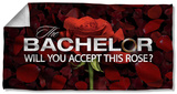 Bachelor - Rose Petals Beach Towel Beach Towel