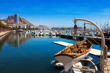 Port with Yachts in Alicante. Spain Photographic Print by  JackF