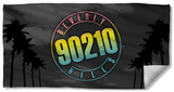 Beverly Hills 90210 - Palms Logo Beach Towel Beach Towel
