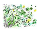 Árbol Lámina por okalinichenko