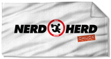 Chuck - Nerd Herd Beach Towel Beach Towel