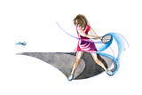 Tennis Poster by  okalinichenko