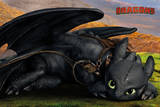 How to Train Your Dragon - Toothless Cute Posters