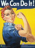 Smithsonian Rosie the Riveter 1000 Piece Puzzle Jigsaw Puzzle