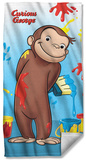 Curious George - Paint Beach Towel Beach Towel