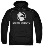 Hoodie: Mortal Kombat X - Dragon Logo Pullover Hoodie