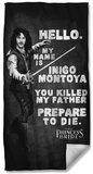 Princess Bride - Hello Again Beach Towel Beach Towel