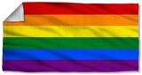 Pride Flag Beach Towel Beach Towel