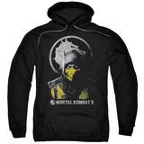 Hoodie: Mortal Kombat X - Scorpion Bust Pullover Hoodie