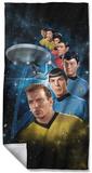 Star Trek - Among The Stars Beach Towel Beach Towel