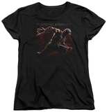 Womens: Mortal Kombat X - Scorpion Lunge T-shirts