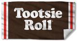Tootsie Roll - Wrapper Beach Towel Beach Towel