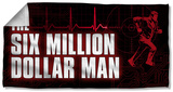 Six Million Dollar Man - Logo Beach Towel Beach Towel