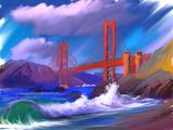 Bridge Art by  yakymenko