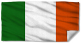 Irish Flag Beach Towel Beach Towel