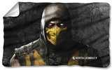 Mortal Kombat X - Scorpion Fleece Blanket Fleece Blanket