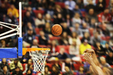 Scoring the Winning Points at a Basketball Game Photographic Print by  ValentinValkov