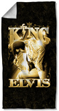 Elvis - The King Beach Towel Beach Towel