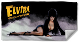 Elvira - Louning Mistress Beach Towel Beach Towel