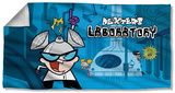 Dexters Lab - Lab Beach Towel Beach Towel