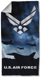 Air Force - Take Off Beach Towel Beach Towel