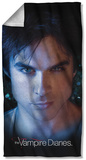 Vampire Diaries - Damon Eyes Beach Towel Beach Towel