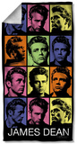 James Dean - Color Block Beach Towel Beach Towel